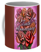 Tenth Anniversary Coffee Mug