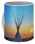 Tepee At Sunset Coffee Mug