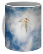Tern In Flight With Fish Coffee Mug