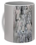 Terra Cotta Warriors Detail Coffee Mug