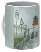 Terrace And Observation Deck At The Moulin De Blute Fin Coffee Mug