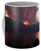 Terrace Mountain Fire 5  Coffee Mug