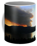Terrace Mountain Fire Coffee Mug