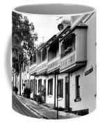 Terraced Houses - Black And White By Kaye Menner Coffee Mug