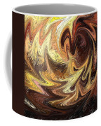 Terrestrial Flames Abstract  Coffee Mug