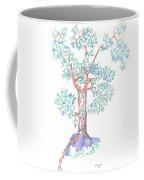 Tesselated Tree Coffee Mug