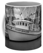Moon Shadow Working Boat Coffee Mug
