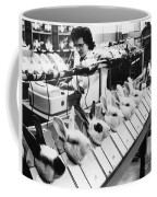 Tests On Animals, 1957 Coffee Mug