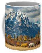 Teton Horses Coffee Mug