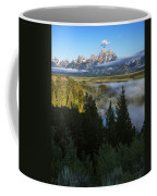 Teton Morning Snake River Overlook Coffee Mug