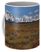 Teton Willow Flats Panorama Coffee Mug