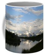 Tetons At Dawn Coffee Mug