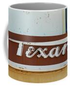Texan Movie Theater Sign Coffee Mug