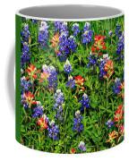 Texas Bluebonnets And Indian Paintbrush Coffee Mug
