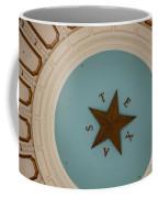 Texas Capitol Dome Lone Star In Austin, Texas, Usa Coffee Mug