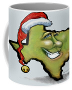 Texas Christmas Greetings Coffee Mug