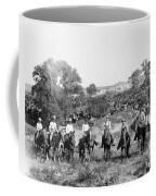 Texas: Cowboys, C1901 Coffee Mug