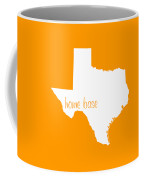 Texas Is Home Base White Coffee Mug
