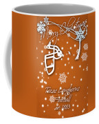 Texas Longhorns Christmas Card Coffee Mug