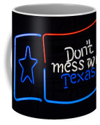 Texas Neon Sign Coffee Mug