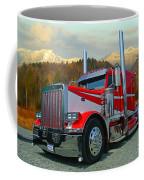 Texas Peterbilt Coffee Mug