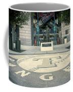 Texas Rangers Logo Coffee Mug