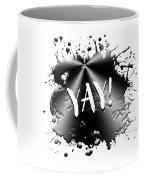Text Art Yay Coffee Mug
