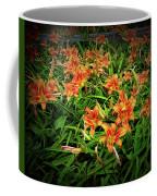 Texture Drama Field Of Tiger Lilies Coffee Mug