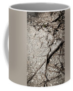 Texture With Root With Plenty Of Pebbles Coffee Mug