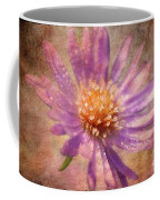 Textured Aster Coffee Mug by Lois Bryan