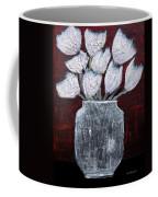 Textured Blooms Coffee Mug