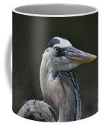 Textured Blue Coffee Mug