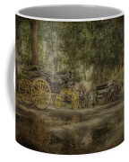 Textured Carriages Coffee Mug