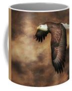 Textured Eagle 2 Coffee Mug
