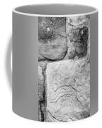 Textured Stone Wall Coffee Mug