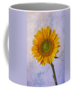 Textured Sunflower Coffee Mug