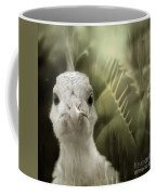 Th White Peacock Coffee Mug