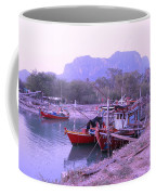 Thai Fishing Boats 05 Coffee Mug