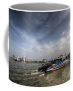Thames Clipper And Cable Car Coffee Mug