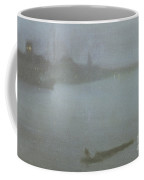 Thames   Nocturne In Blue And Silver Coffee Mug