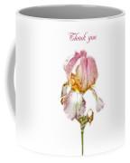 Thank You Greeting Items - Bearded Iris Coffee Mug
