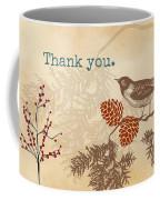 Thanks Coffee Mug