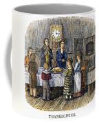 Thanksgiving, 1853 Coffee Mug