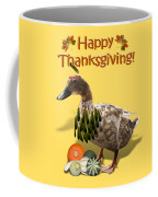 Thanksgiving Indian Duck Coffee Mug