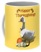 Thanksgiving Pilgrim Duck Coffee Mug