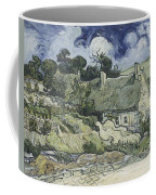 Thatched Cottages At Cordeville Coffee Mug