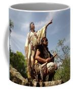 Thats Where I Saw The White Man Coffee Mug