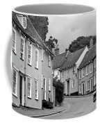 Thaxted Cottages In Black And White Coffee Mug