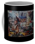 The 80 S Collage Coffee Mug
