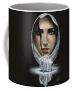 The Face In The Mirror Coffee Mug